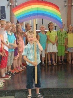 Gottesdienstgestaltung - Singen unterm Regenbogen