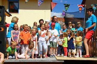 Programm der Kindergartenkinder